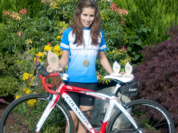 Hayley Priestley from Maghera is ready to break into the world  level of ladies' cycling.