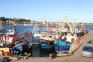 Ardglass harbour.