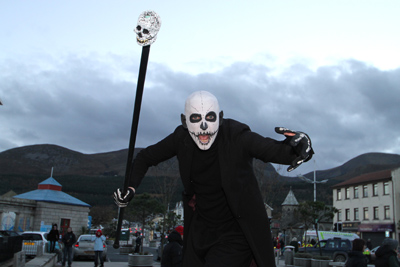 Does Newcstle's Hallowtides Festival get any scarier than this?