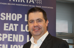 Glynn Roberts, NIIRTA Chief Executive.