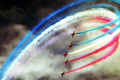 The Red Arrows will be returning to Newcastle's skies this summer.