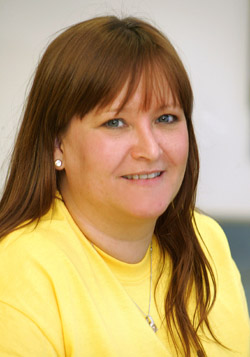 Sarah Breen from Newcastle who has a new post with the Friends of the Cancer Centre.