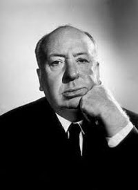Alfred Hitchcock, film director.