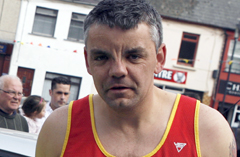 Sadly missed. East Down Athletic Club runner Stephen Shannon.
