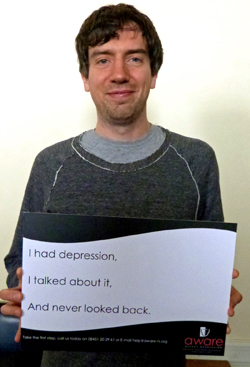 Gary Lightbody of Snow Patrol suffered from depression and offers advice how to fight it.
