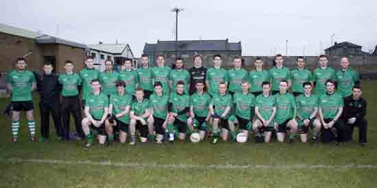The Castlewellan Seniors team.