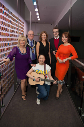 Thady Graham from Killykleagh came in a credible third place in the Mayor's talent competition in Newtownabbey.