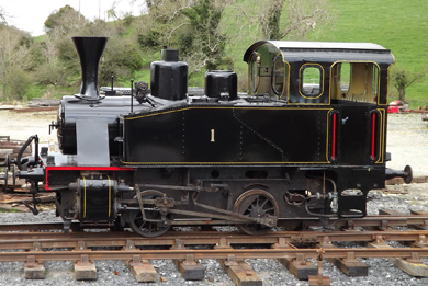 No 1 is ready to roll for the May bank holidays at Downpatrick railway.