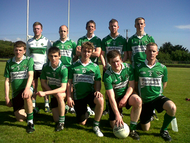 The Fin team in the Junior Feis Sevens.