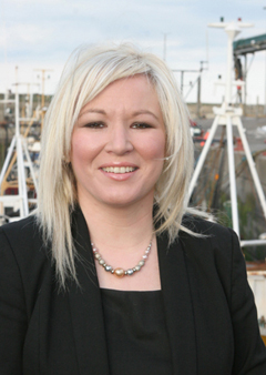 Northern Ireland Fisheries Minister Michele O'Neill has announced that the Fishereis Division will move to South Down