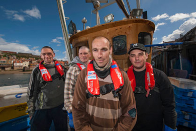 Fishermen are being issued with life-saving equipment in a bid to prevent losses overboard.