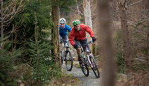 A 25-mile mountain biking trail is now open around Castlewellan and there are plans to develop sport further in the Mournes and Slieve Croob area following public consultations.