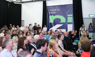 A section of the audience who attended the launch of NI21.