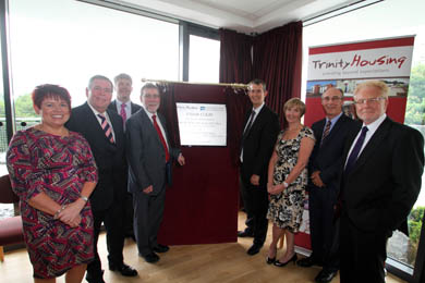 The Cedar Grove home for the elderly was opened by DSD Minister Nelson McCausland and Health Minister Edwin Poots.