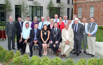 Down District Council councillors pictured at their annual general meeting in the Downshire Civic Centre.