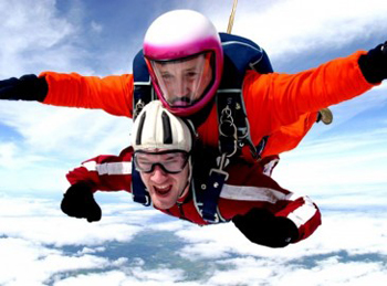 Why not try out something different and support needy children? The NSPCC are organising the Big Sky Dive in October.