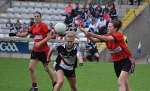 Down Ladies enjoyed a victory over Sligo to earn themselves a place in the All Ireland semi-final.