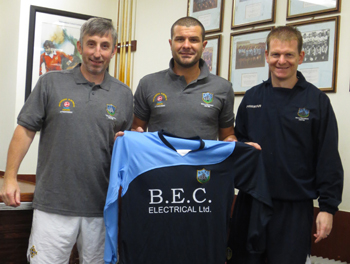 BEC Electrical Ballynahich presents a new strip to the club.