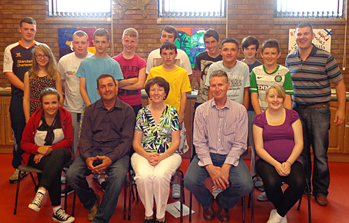 Patrician Youth Centre members completed a Safety programme with the Down Policing and Community Safety Partnershop.