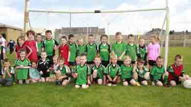 The U-6's who took part in the blitz. (Photo by Brian Cunningham).