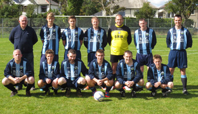 The Ballynahinch United team.