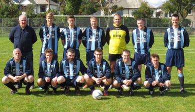 The Ballynahinch United team.