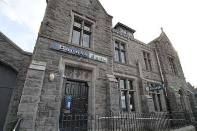 The Danske Bank has offered a lease of the premises in Castlewellan to the community and voluntary sector as an option as the property is set to go on the market.