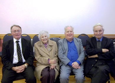 Members of the Rademon Church congregation.
