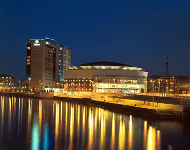 The Waterfront in Belfast.