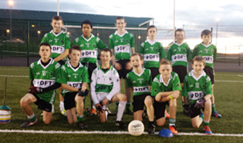 Aughlisnafin U-14's squad that took part in the East Down Blitz at the Red High