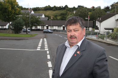 Rowallene Councillor Billy Walker has called for a new ramp to be installed at Braeside Gardens in Killyleagh.