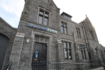 The former Danske Bank in Castlewellan.