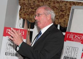 Jim Shannon, Strangford MP.