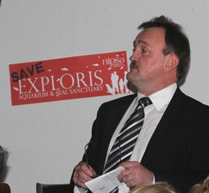 Ards Borough Councillor Joe Boyle