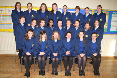 Recipients of the KS3 Subject Awards at St Mary's High School in Downpatrick.