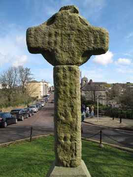 The Cross looking down The Mall in Downpatrick.