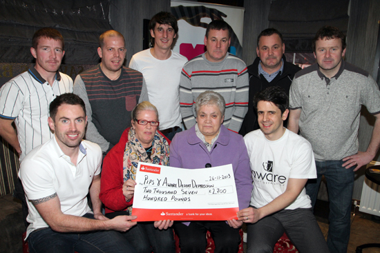 The fundraising event in aid of charities supported by the  late Stephen 'Stig' Shannon was a great success.
