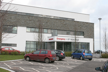 The Downe A&E in Downpatrickm currently running on weekday hours and closed at niights and weekends.