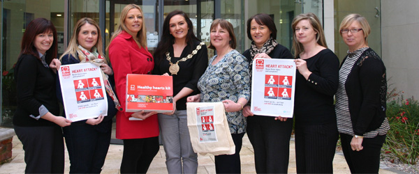 A heart attack awareness campaign has been launched at the Downpatrick Civic Forum to cover the South East HSC Trust area.