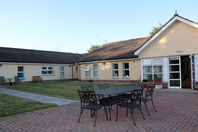 The residential centre accomodating the clients from the former Downshire Hospital.