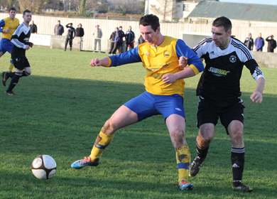Drumaness Mills kept Crumlin Star at bay in a tense clash at Meadowvale.