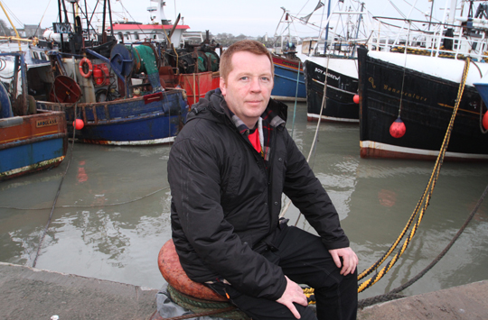 Ardglass skipper Martin Rice has welcomed the hardship payments given out to local fishermen by the Fishermen's Mission.