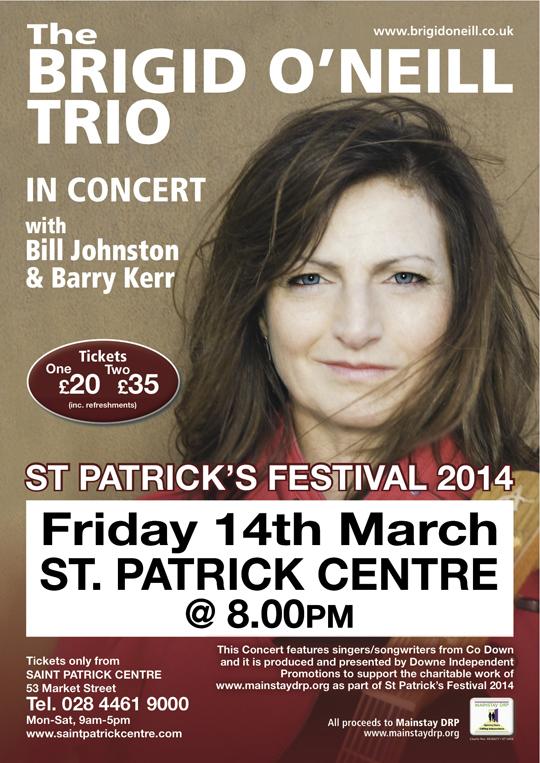 Mainstay DRP A4 Brigid O'Neill Poster