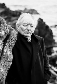 Irish playwright Brian Friel. (Photo by Bobby Hanvey).