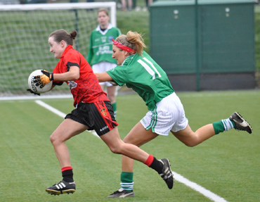 Down Ladies were in attacking mode against Fermanagh.