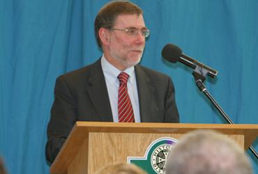 DSD Minister Nelson McCausland