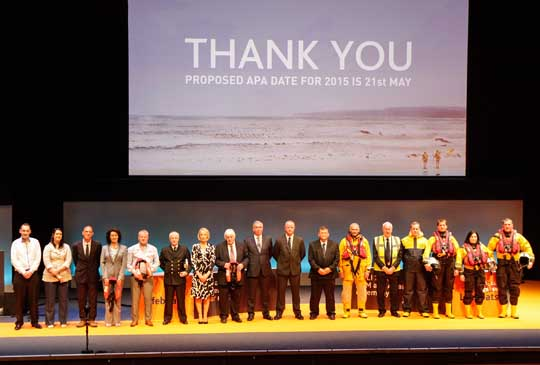RNLI Finale party