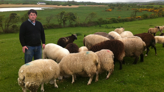 TUV Rowallene candidate Brian Hamilton wants a better deal for local farmers.