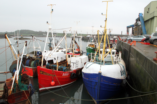 Ardglass fishermen have now received their bad weather hardship payments from DARD.