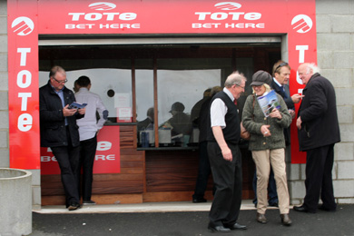The Tote was well supported on the day with the added introduction of the new digital feedback system making payments and information very quick.